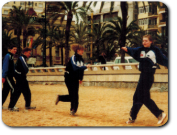 Trainingslager in Lloret de Mar in Spanien (2003)